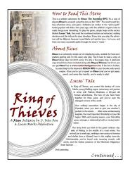 Ring of Thieves -- A Risus Solitaire by S. John Ross -- A Lucas Marks Adventure